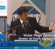 CUMIPAZ 2017 - Sesión Diplomática, Parlamentaria y Política - Victor Hugo Zamora - Mesa 1   EMAP