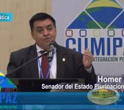 CUMIPAZ 2017 - Sesión Diplomática, Parlamentaria y Política - Homer Menacho - Mesa 2   EMAP