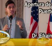 Educar para Recordar - Apertura de Foros - Dr. Efraín Colón - Puerto Rico | EMAP