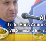 ALIUP - VIII Seminario Internacional - Lcdo  Boris Arturo Crespo   EMAP