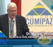 CUMIPAZ 2017 - Sesión Justicia  - Dr. Manuel Ventura Robles | EMAP