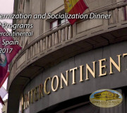 Justice for Peace - Spain - Socialization Program Dinner I GEAP