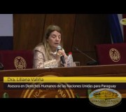 Dra. Liliana Valiña, Asesora en Derechos Humanos de las Naciones Unidas para Paraguay, Argentina.