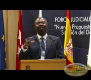 Justice for Peace - Judicial Forum in Spain - Dr. Antoine Kesia Mbe Mindua I GEAP
