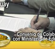 Educar para Recordar - Convenio de Colaboración con el Ministerio de Educación del Paraguay  EMAP