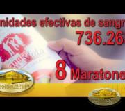 Consolidado 8 Maratones Internacionales de Donación de Sangre | EMAP