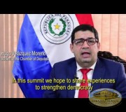 2016 07 22 Interview with President of the Chamber of Deputies of Paraguay Hugo Velazquez