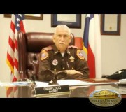 Sheriff Omar Lucio, of Cameron County, recognizes Dr. William Soto